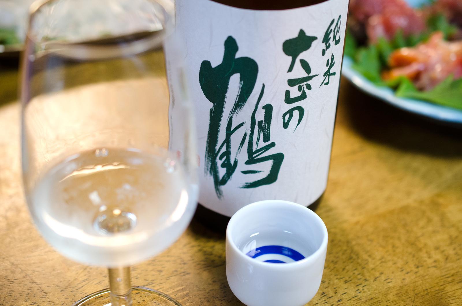 落酒造場 大正の鶴 純米
