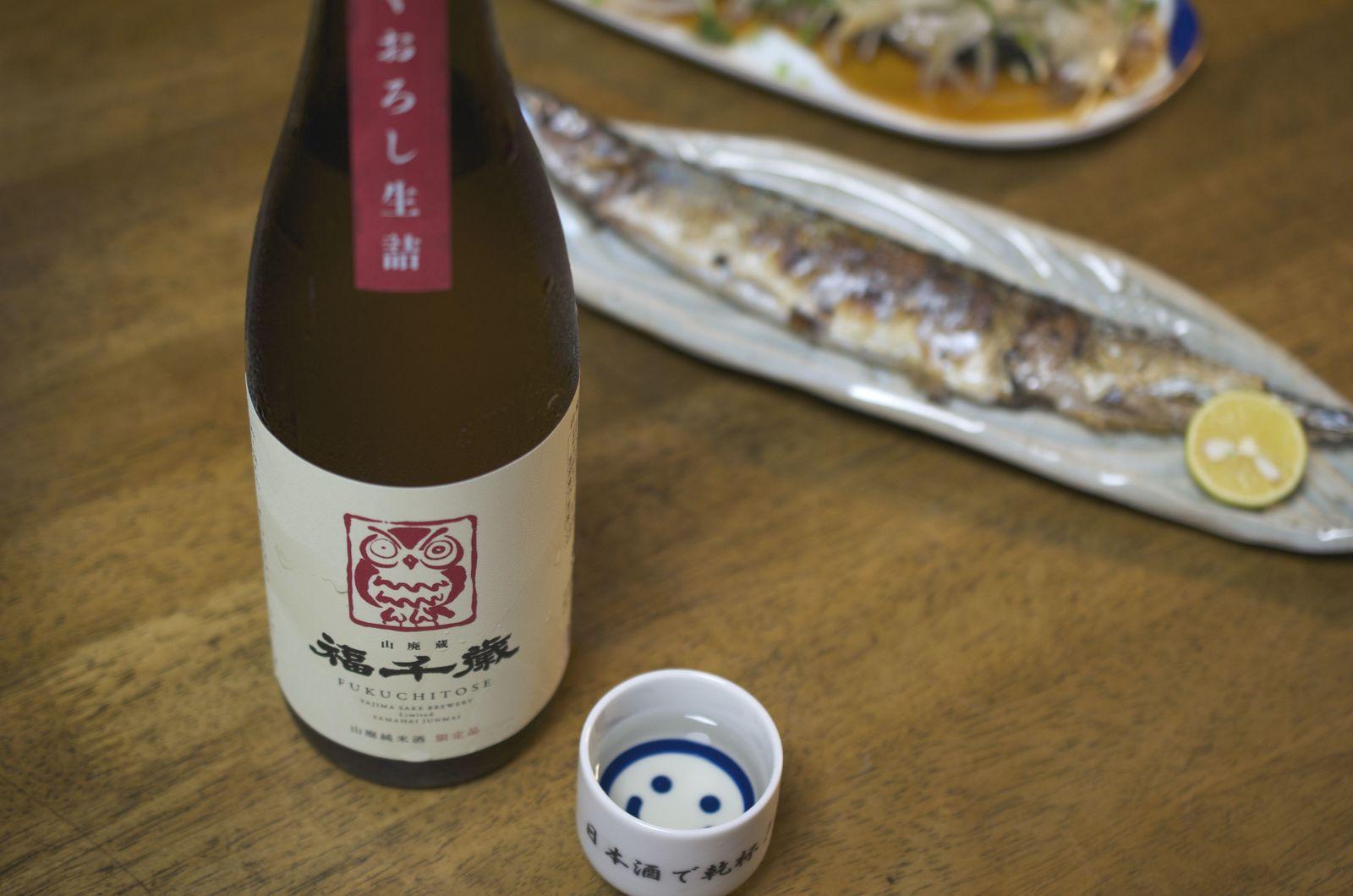 田嶋酒造 福千歳 山廃 純米 ひやおろし 生詰