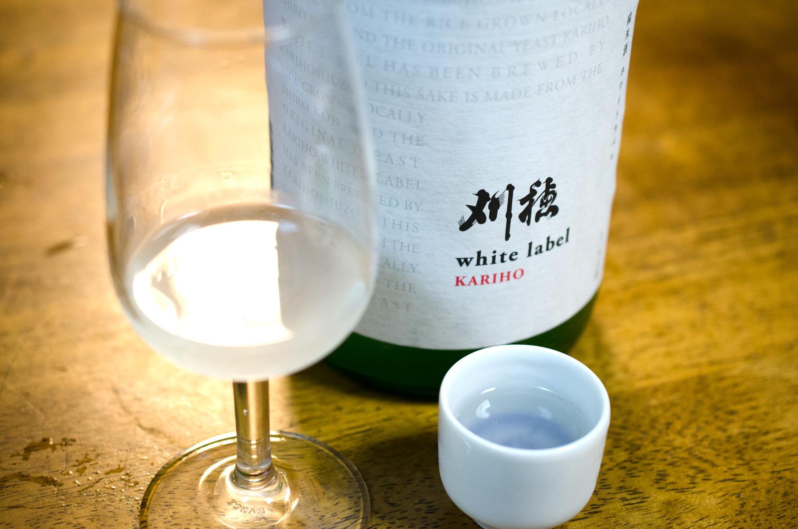 秋田清酒 刈穂 ホワイトラベル 純米