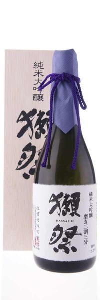 旭酒造 獺祭 純米大吟醸 磨き二割三分 720ml 木箱入