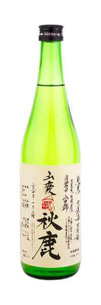 秋鹿酒造 秋鹿 山廃 純米 山田錦 無濾過生原酒 720ml R1BY(2020)